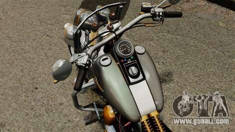 Harley-Davidson Trike for GTA 4 back view