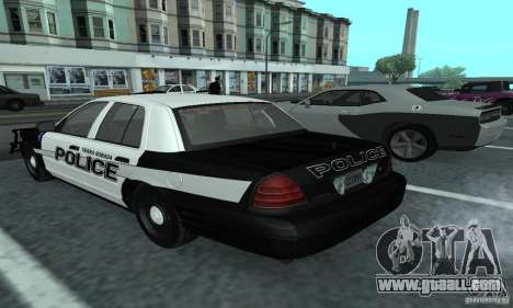 Ford Crown Victoria 2009 Slicktop for GTA San Andreas left view