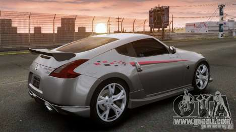 Nissan 370Z NISMO S-Tune for GTA 4 left view