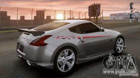 Nissan 370Z NISMO S-Tune for GTA 4 left view