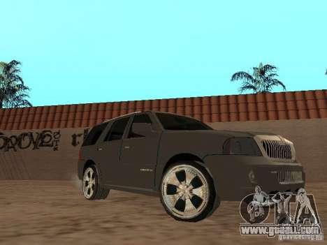 Lincoln Navigator 2004 for GTA San Andreas left view