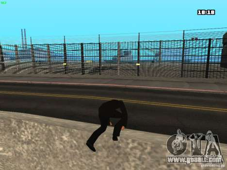 New animations for GTA San Andreas