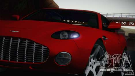 Aston Martin DB7 Zagato 2003 for GTA San Andreas back left view