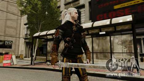 Sword of the Witcher v1 for GTA 4 third screenshot