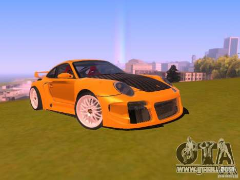 Porsche 911 Turbo Tuning for GTA San Andreas back view