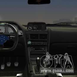 Nissan Skyline GTR R34 for GTA Vice City right view