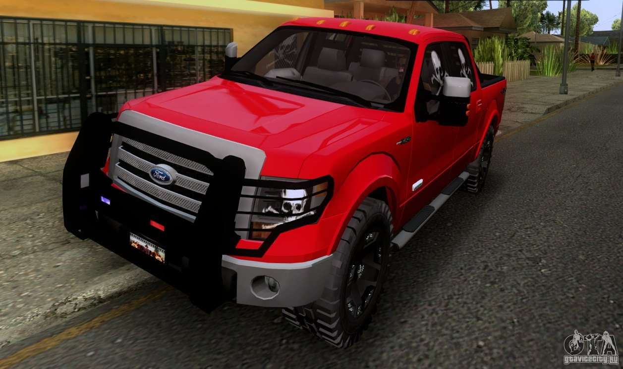 Ford F-150 4x4 for GTA San Andreas