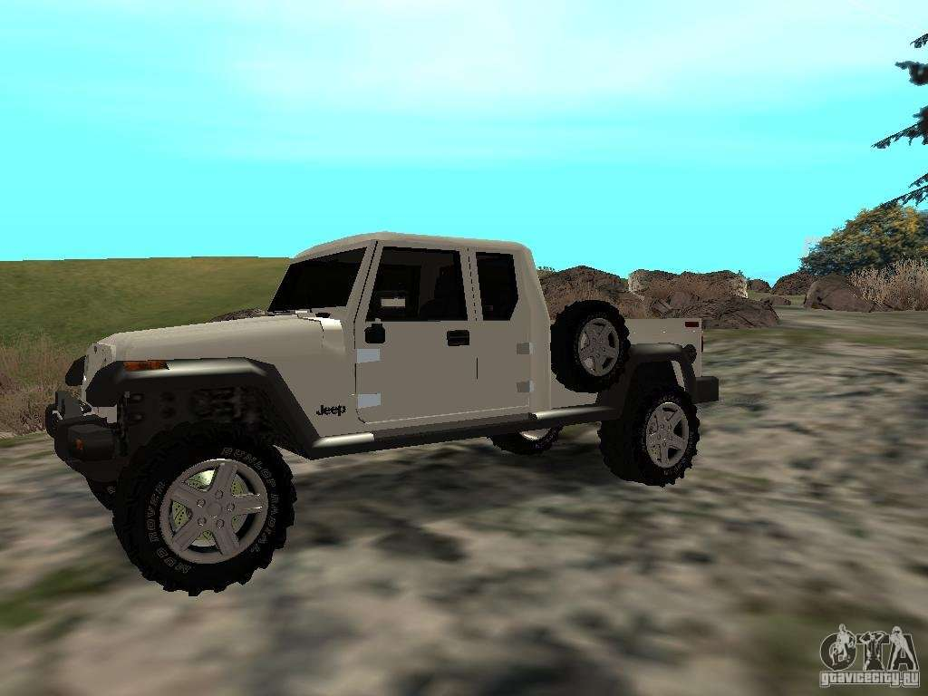 Jeep Gladiator For Gta San Andreas