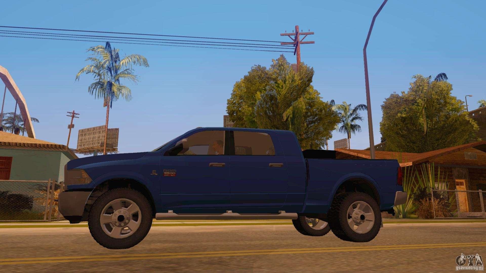Lifted Ram 2500 >> Dodge Ram 2500 HD 2012 for GTA San Andreas