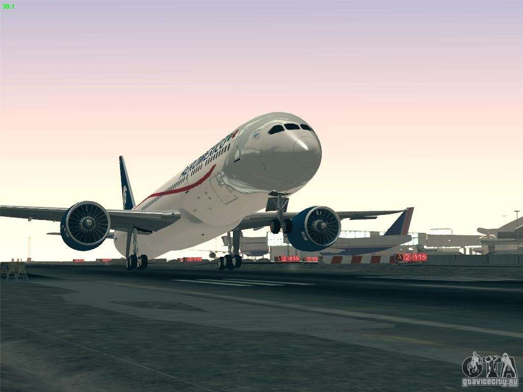 Boeing 787 8 Dreamliner Aeromexico For Gta San Andreas