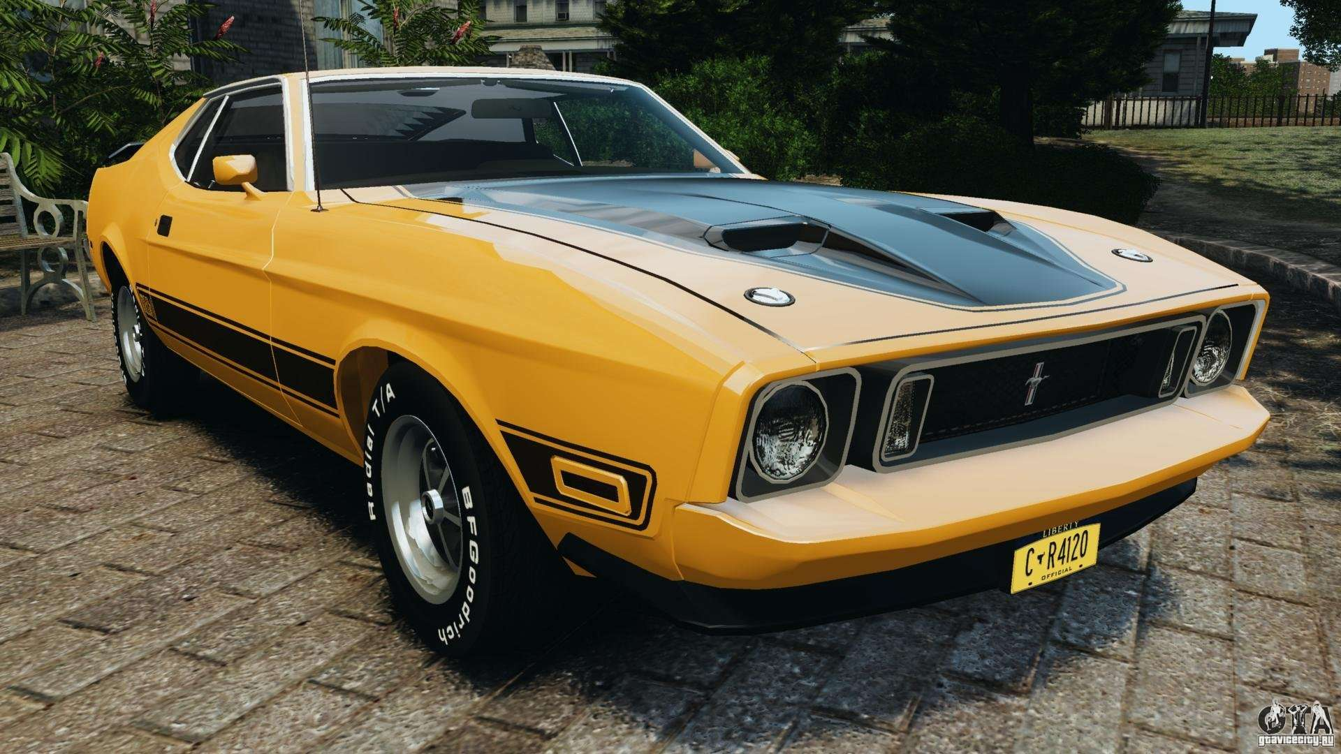 Ford Mustang Mach 1 1973 V2 For Gta 4