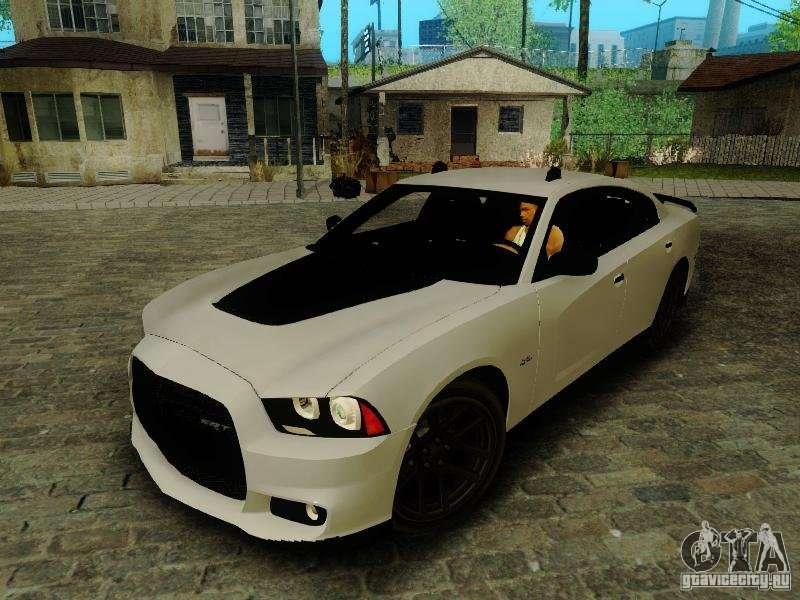 Dodge Charger Srt >> Dodge Charger SRT8 2012 for GTA San Andreas