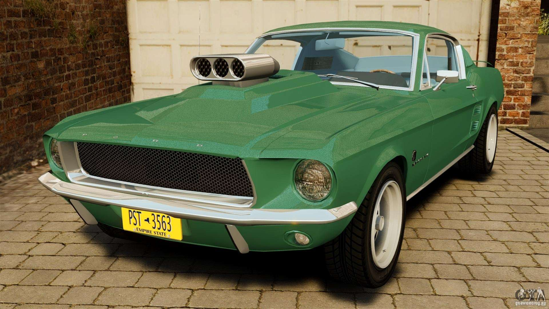 ford mustang 1967 for gta 4. Black Bedroom Furniture Sets. Home Design Ideas