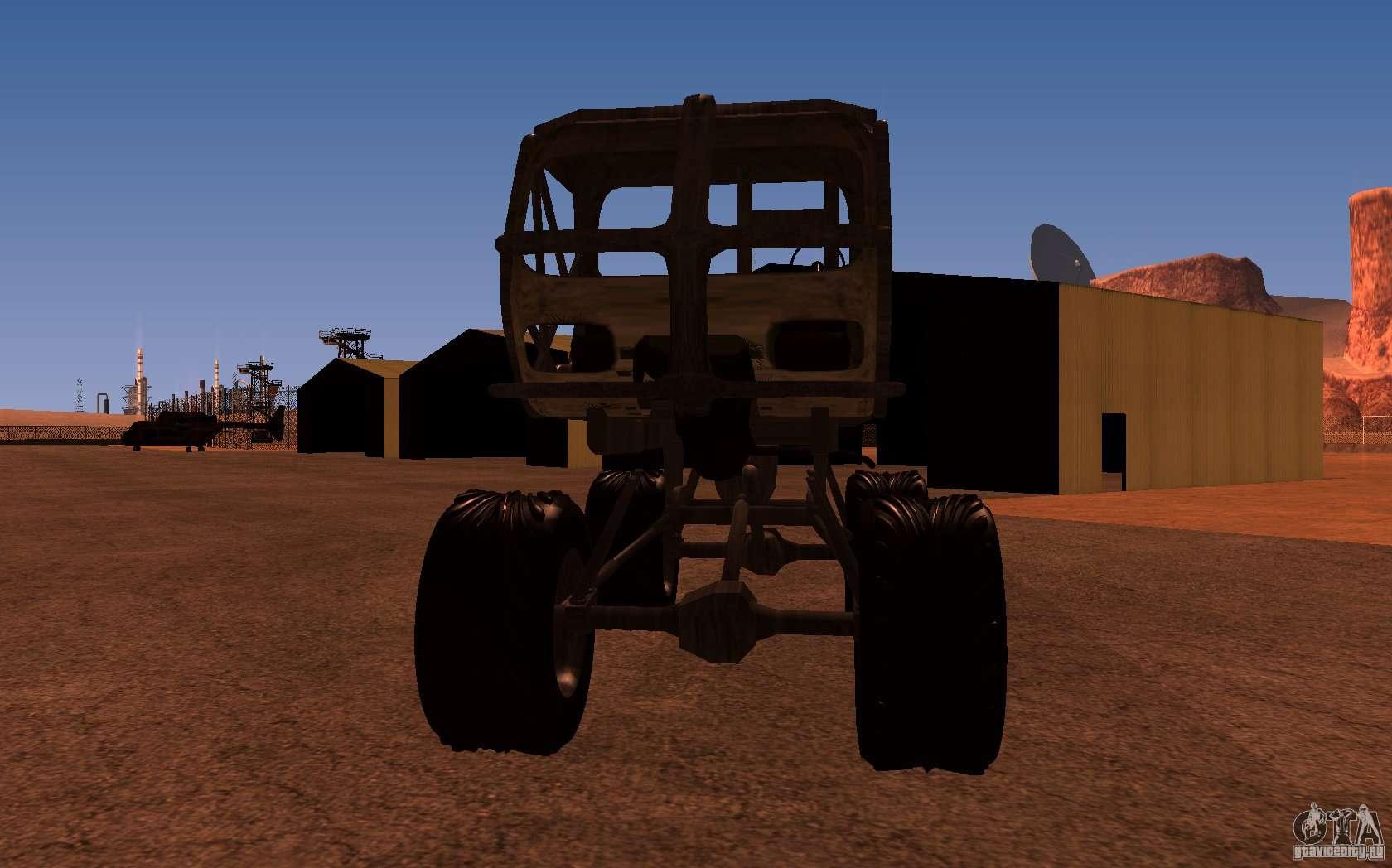 Fast Awd Cars >> Heist Truck for GTA San Andreas