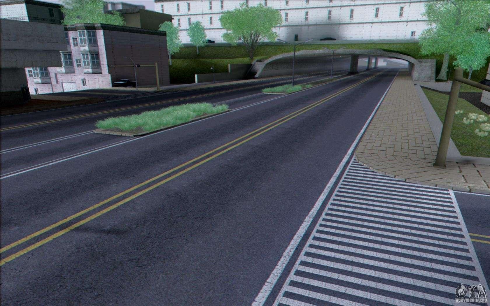 Hd Road V3 0 For Gta San Andreas