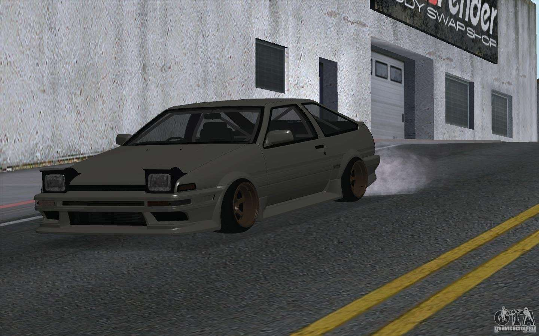 Toyota Corolla Ae86 For Gta San Andreas