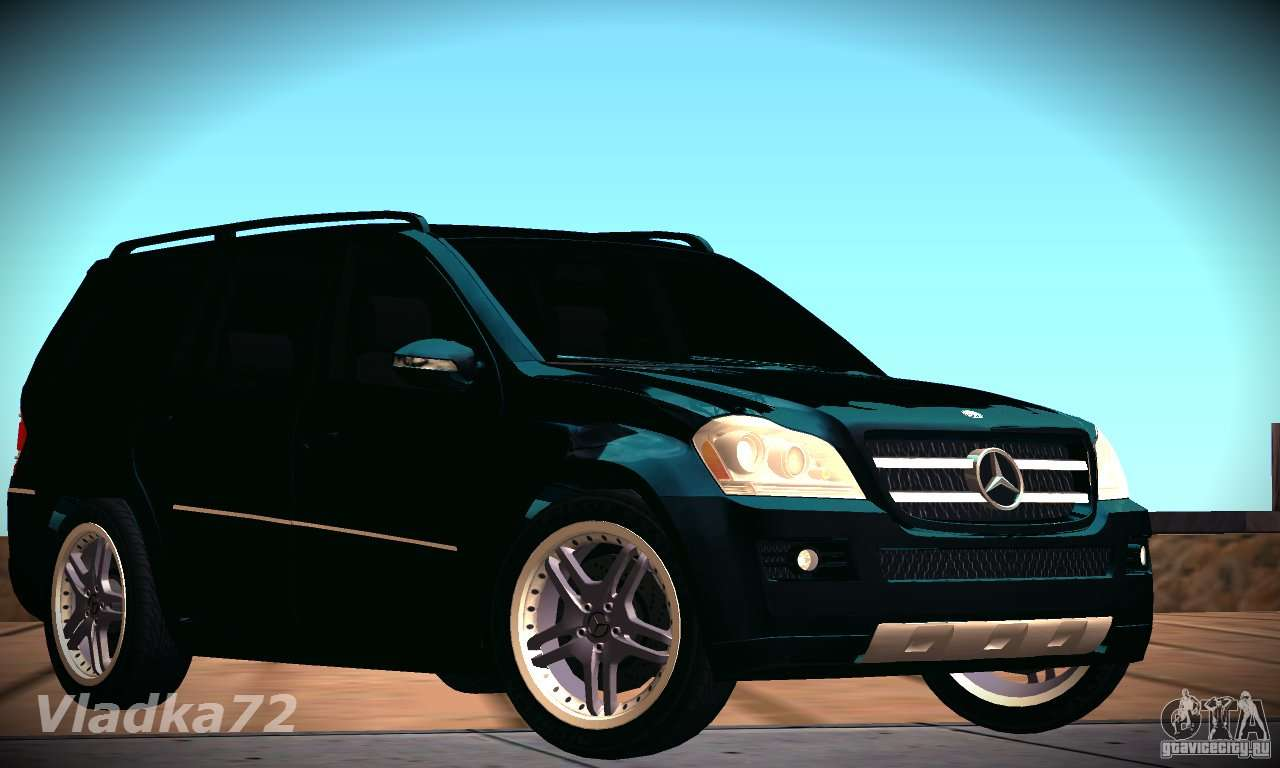 Mercedes benz gl500 v 2 for gta san andreas for Mercedes benz gl500