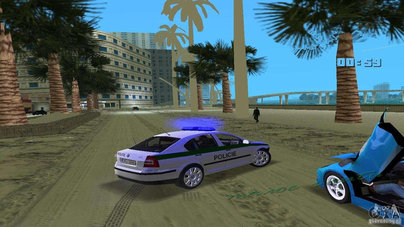 Skoda octavia 2005 for gta vice city