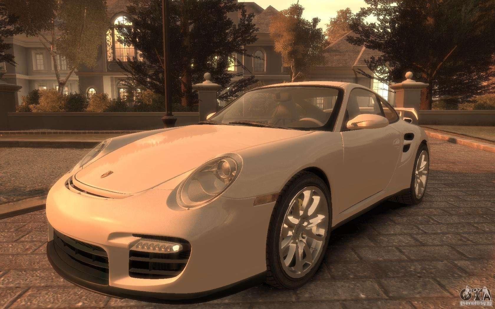 porsche 911 gt2 2008 for gta 4. Black Bedroom Furniture Sets. Home Design Ideas