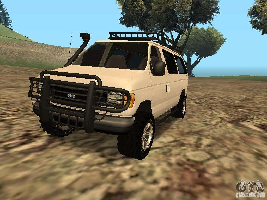 Ford E 150 Offroad For Gta San Andreas