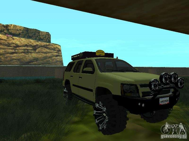 chevrolet tahoe off road for gta san andreas. Black Bedroom Furniture Sets. Home Design Ideas