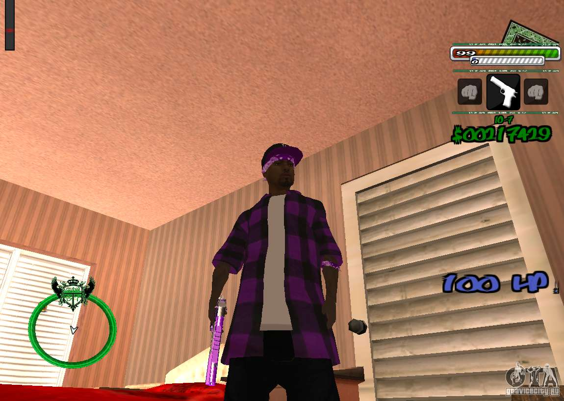 P Hud For Gta San Andreas