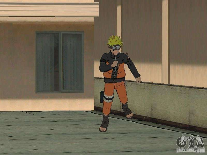 Skin Pack From Naruto for GTA San Andreas