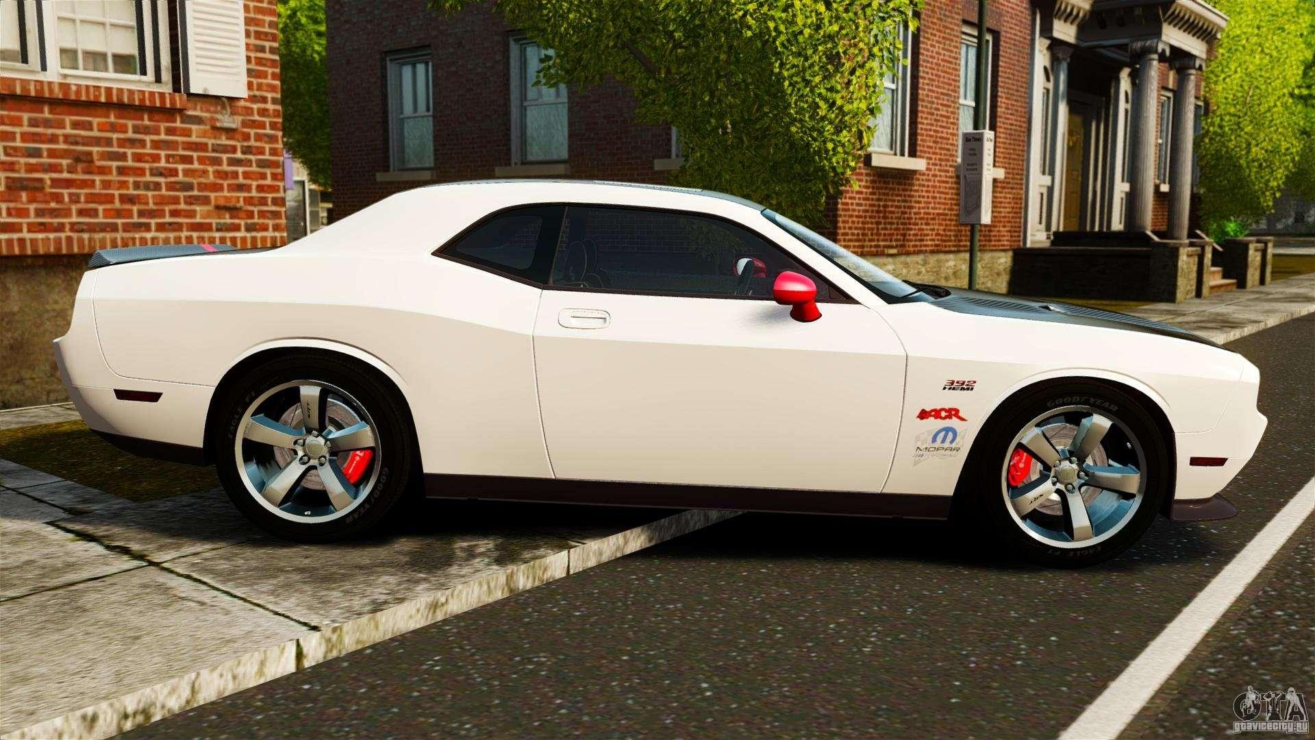 Dodge Challenger Srt8 392 2012 Acr Epm For Gta 4