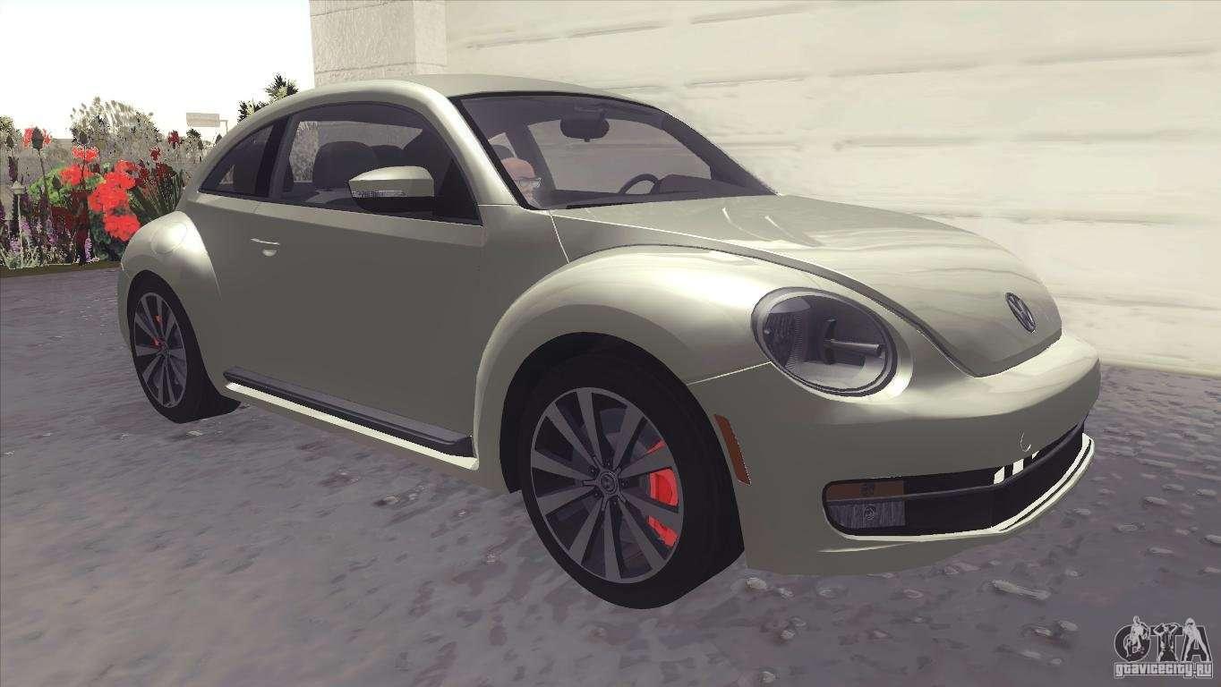 volkswagen beetle turbo 2012 for gta san andreas. Black Bedroom Furniture Sets. Home Design Ideas