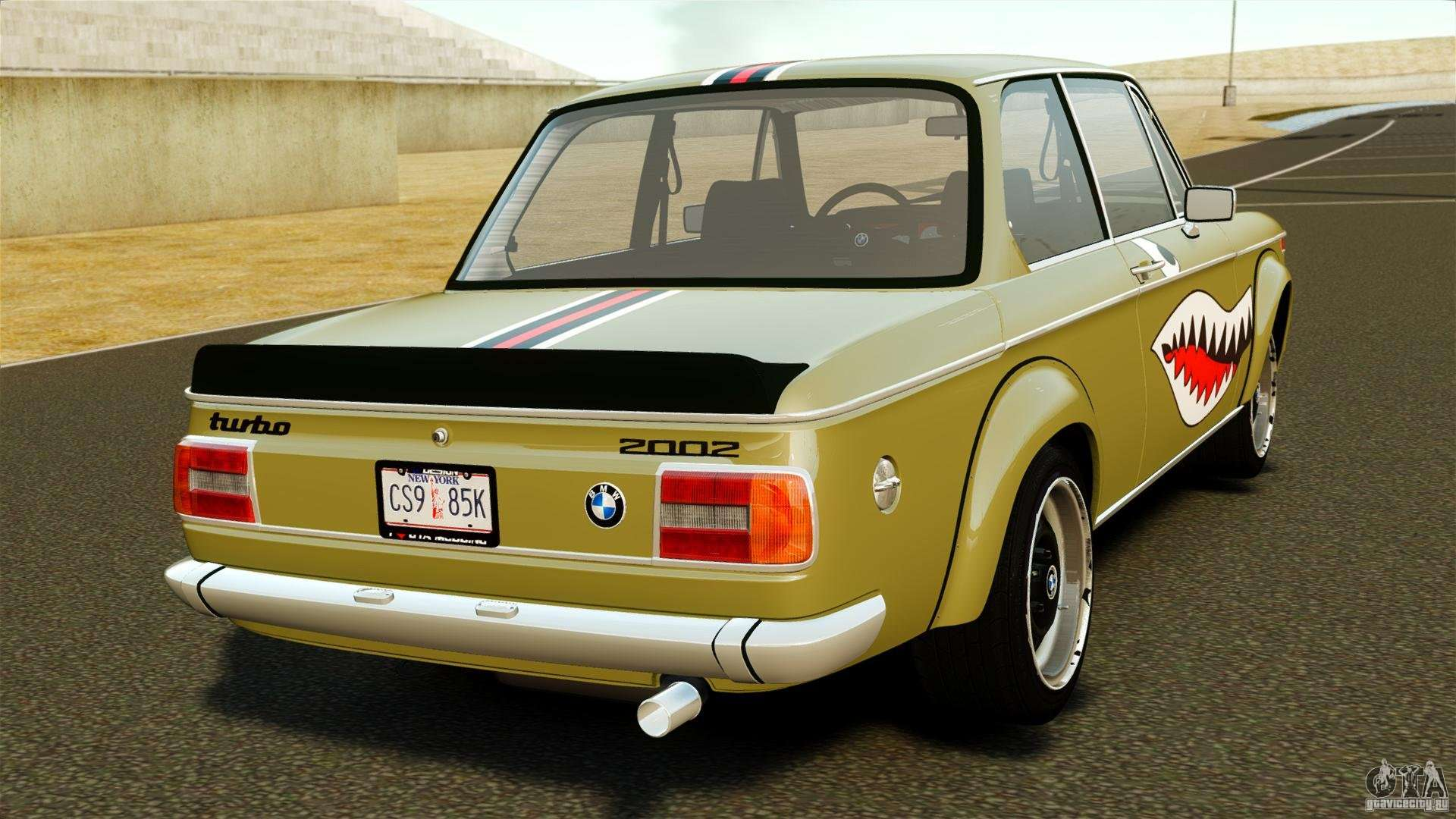 bmw 2002 turbo 1973 for gta 4. Black Bedroom Furniture Sets. Home Design Ideas