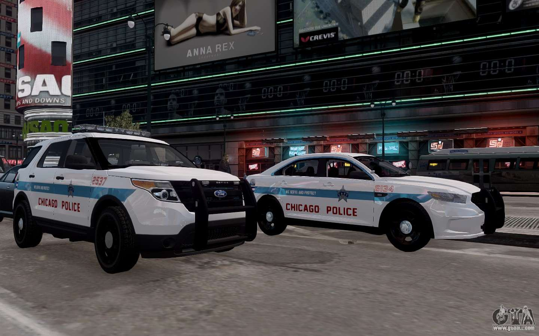 Ford Explorer Chicago Police 2013 For Gta 4