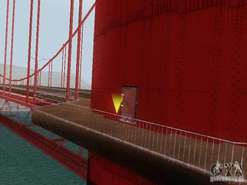 Climbing The Golden Gate Bridge For Gta San Andreas