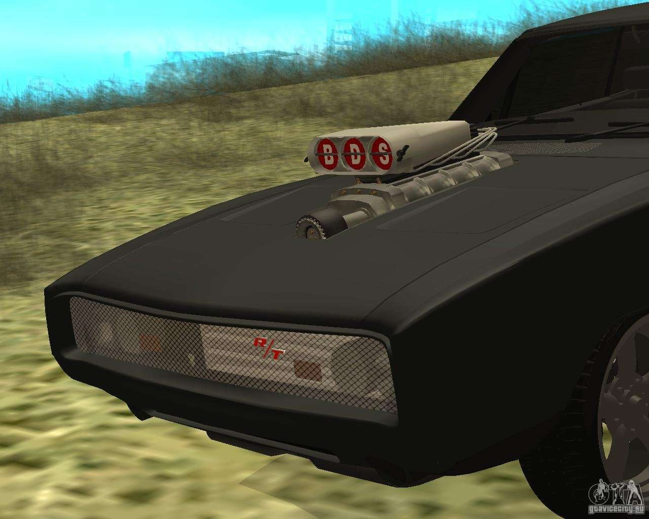 Dodge Charger R T 1970 For Gta San Andreas