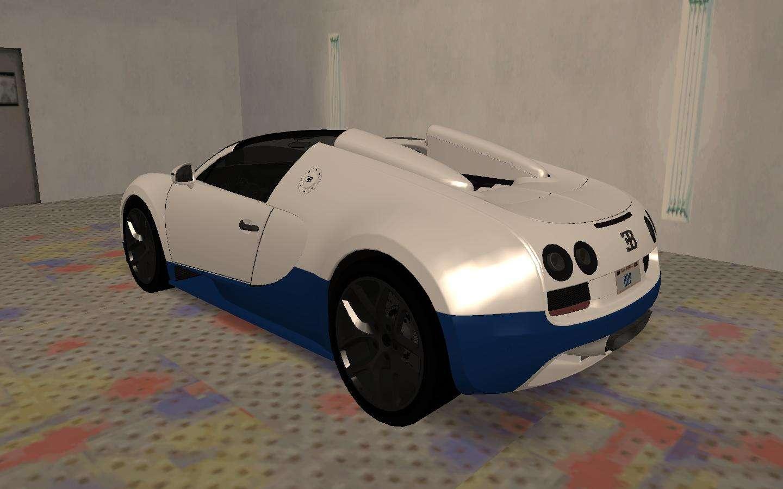 bugatti veyron grand sport vitesse for gta san andreas. Black Bedroom Furniture Sets. Home Design Ideas