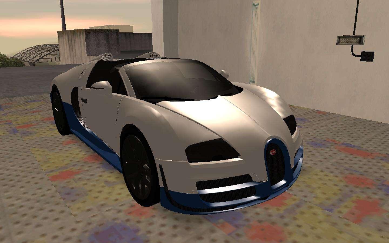 Bugatti Veyron Grand Sport Vitesse For GTA San Andreas Left View