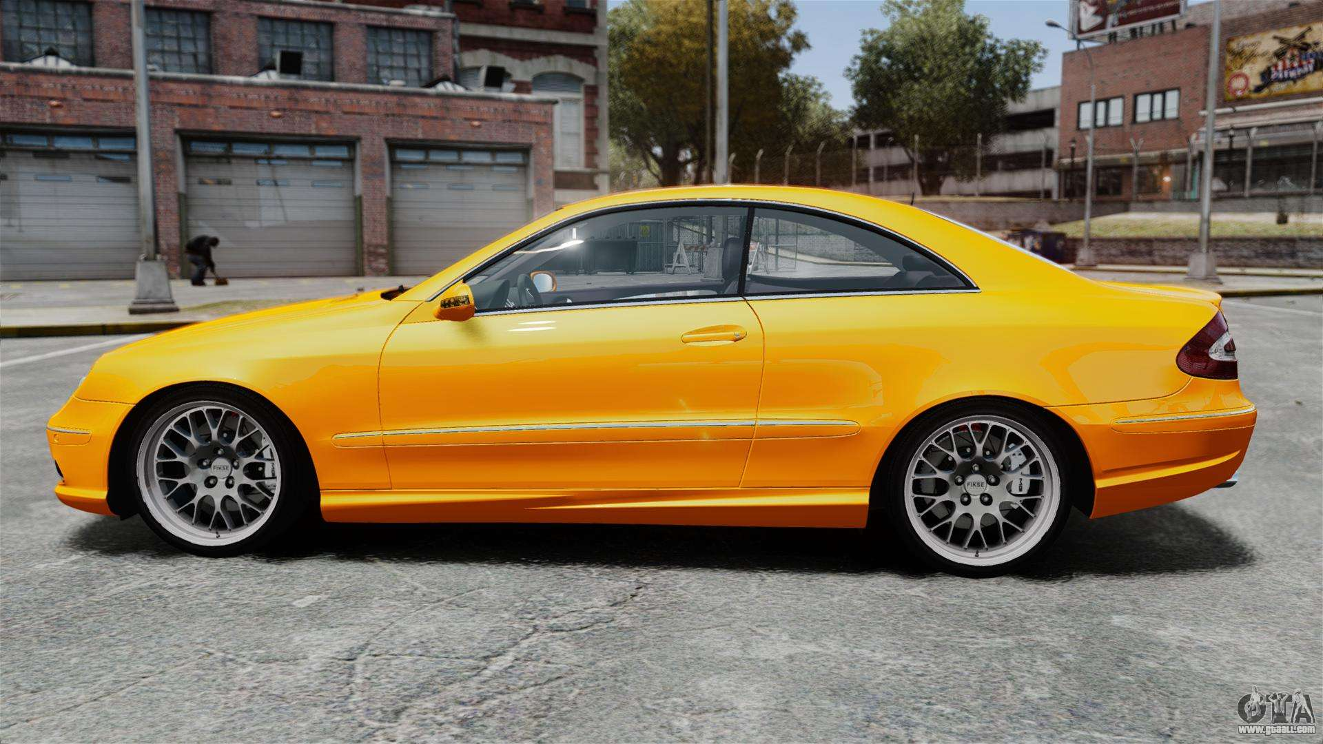 Mercedes benz clk 55 amg for gta 4 for Mercedes benz 55