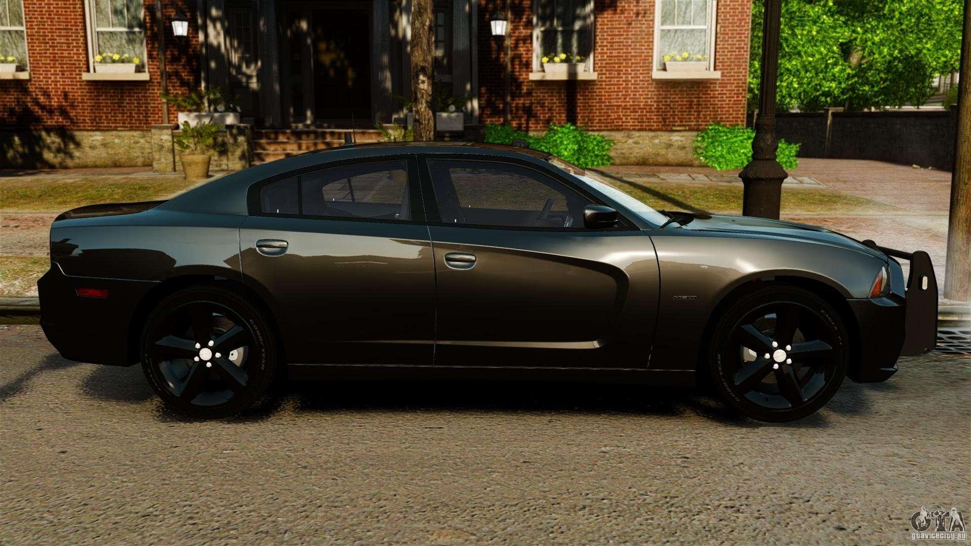 Dodge Charger Rt Max Fbi 2011 Els For Gta 4