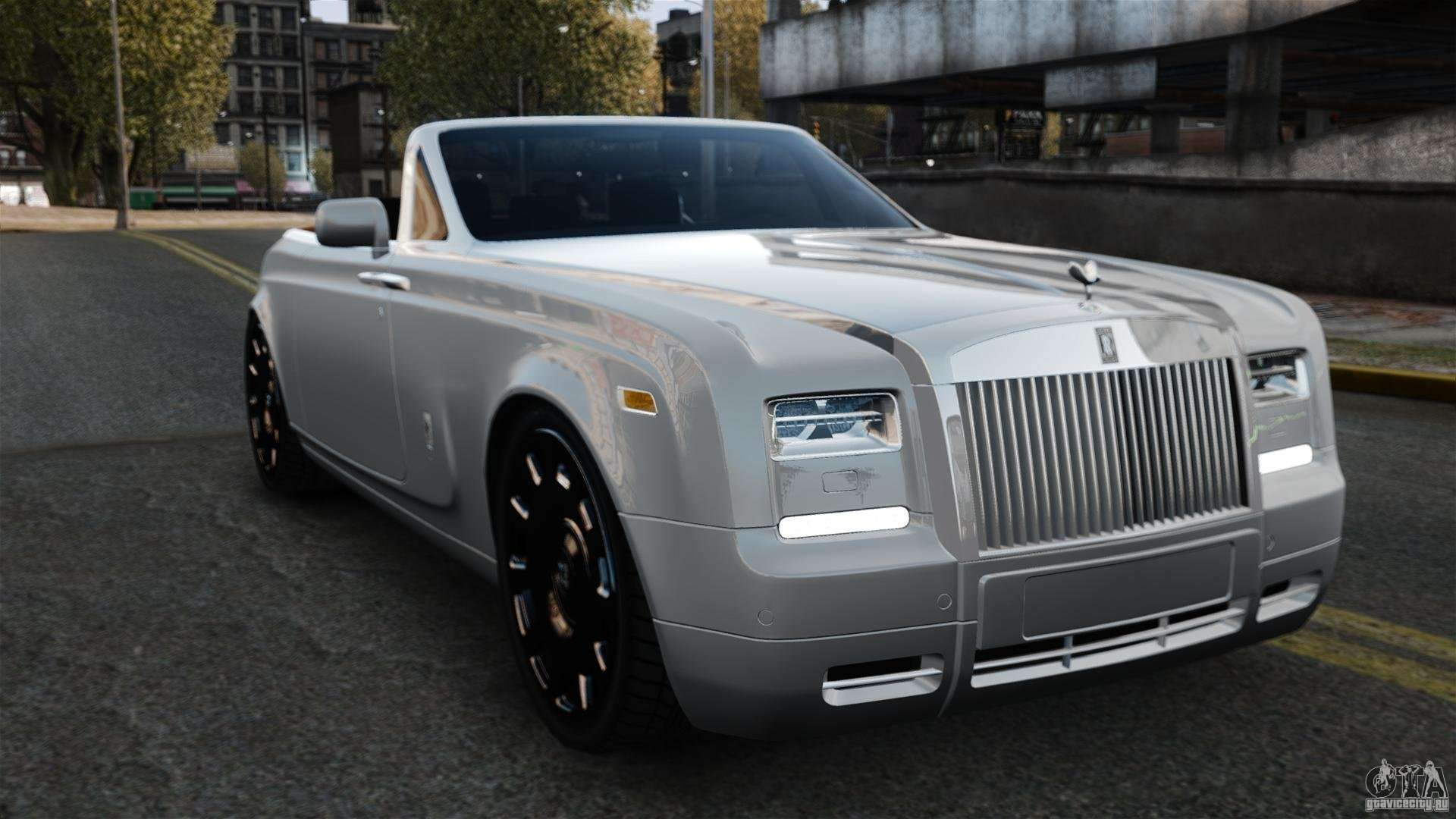 Rolls Royce Phantom Convertible 2012 For Gta 4