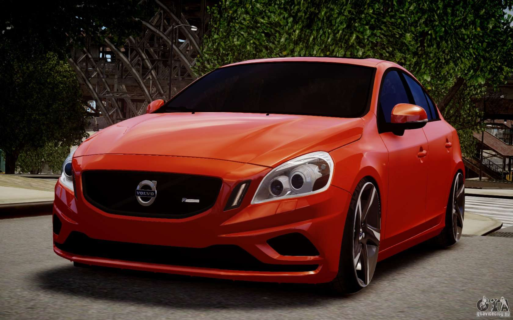 Volvo S60 R-Design 2011 for GTA 4