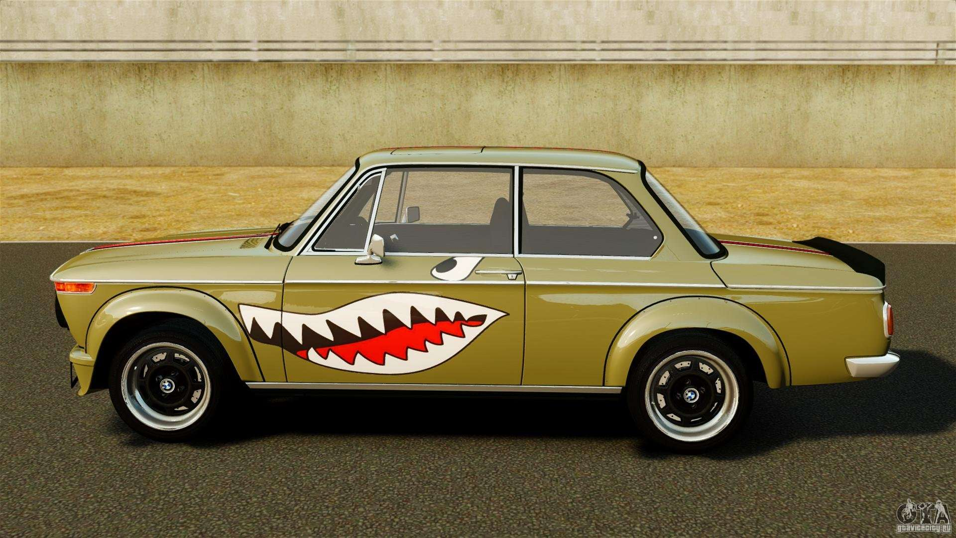Bmw 2002 Turbo 1973 For Gta 4