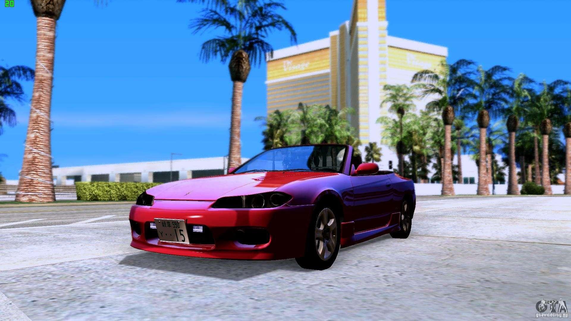 Nissan Silvia S15 Variettafilenissan Varietta Rear Mona Lisa For Gta San Andreas