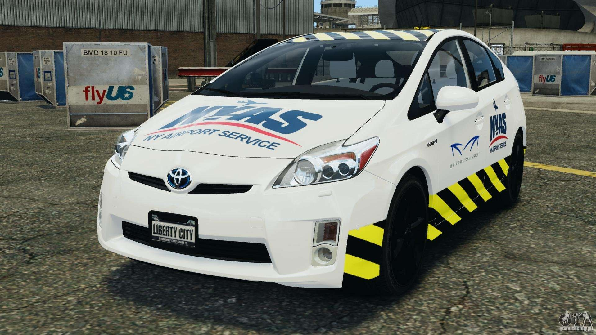 toyota prius ny airport service for gta 4. Black Bedroom Furniture Sets. Home Design Ideas