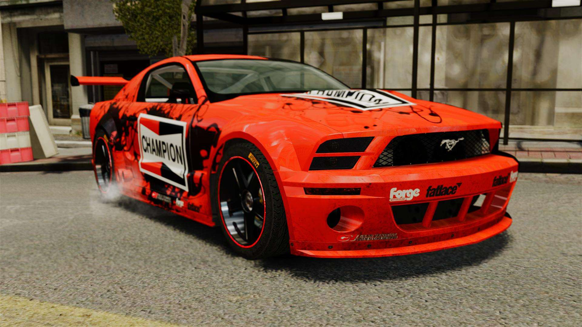 ford mustang gtr for gta 4. Black Bedroom Furniture Sets. Home Design Ideas