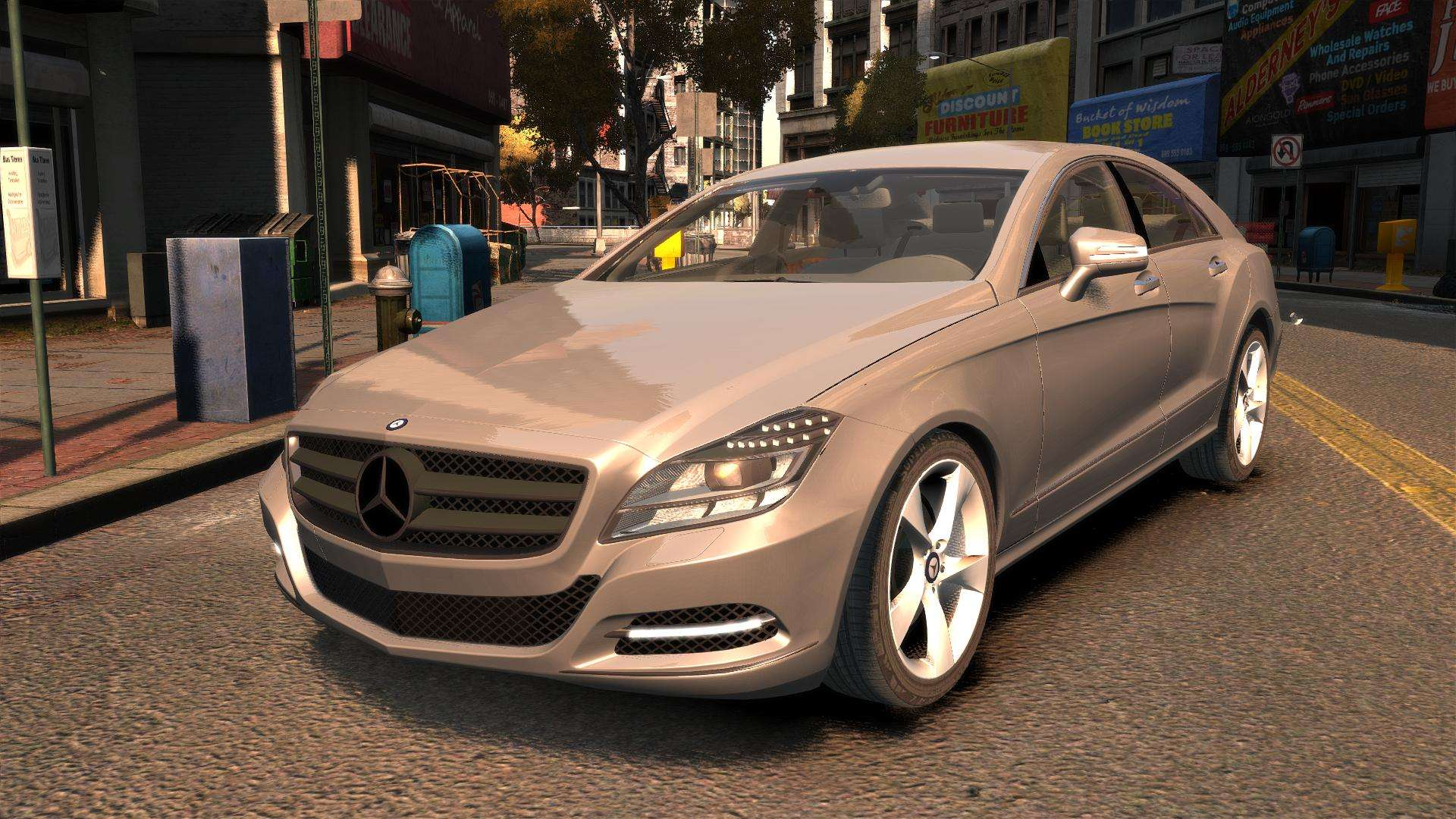 Mercedes benz dk cls350 for gta 4 for Mercedes benz gta