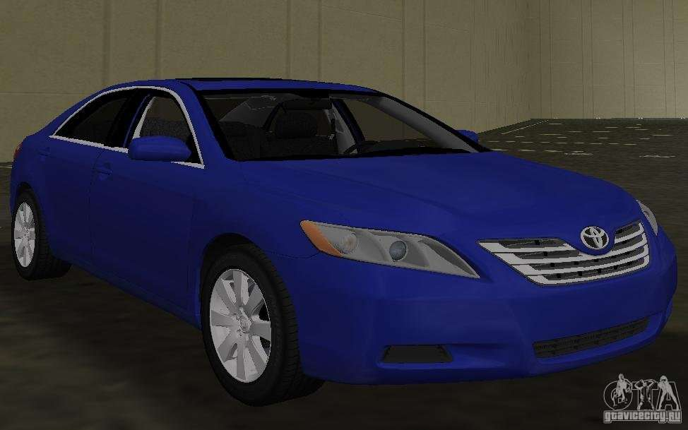 Toyota Camry 2007 for GTA Vice City