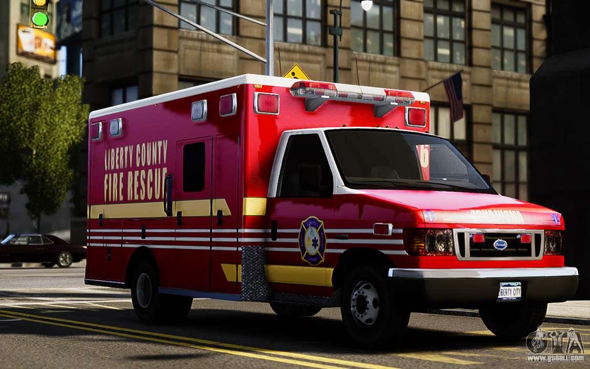 Ford Econoline E350 Ambulance For Gta 4
