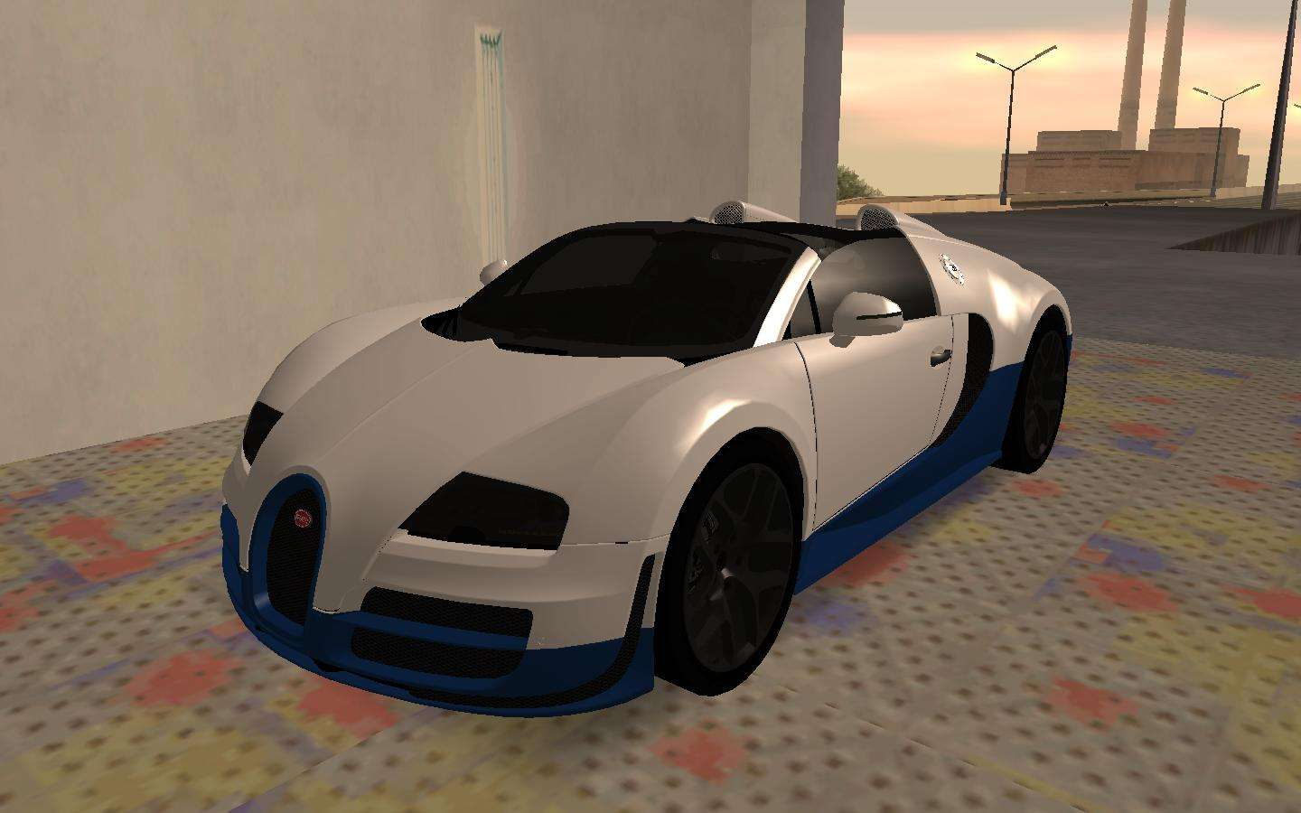 bugatti veyron grand sport vitesse for gta san andreas. Black Bedroom Furniture Sets. Home Design Ideas