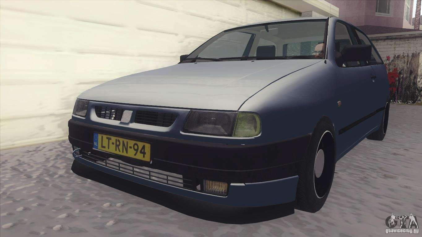 seat ibiza glxi 1 4 1994 for gta san andreas. Black Bedroom Furniture Sets. Home Design Ideas