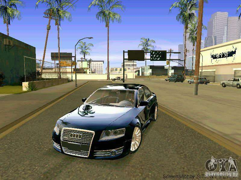 Audi A6 For Gta San Andreas Page 1