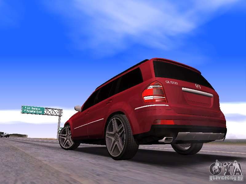 Mercedes benz gl500 brabus for gta san andreas for Mercedes benz gl500
